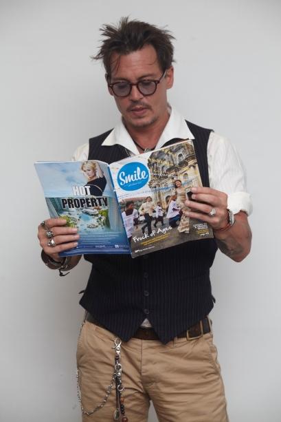 JohnnyDeppSmileMagazine