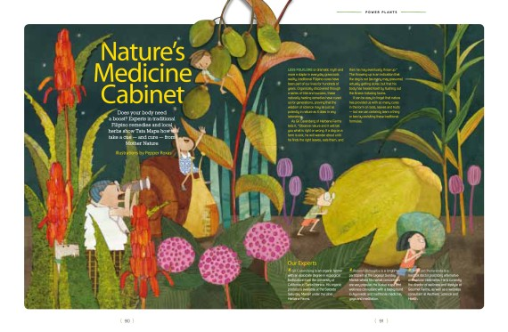 August 2013 %22Nature's medicine cabinet%22-1